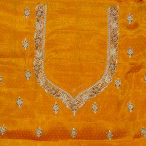 Yellow Gaji Silk Blouse
